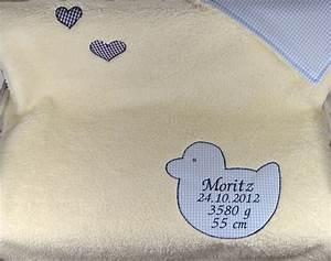 Babydecke Mit Namen Und Geburtsdatum : babydecke mit namen zur geburt oder taufe paulili ~ Buech-reservation.com Haus und Dekorationen