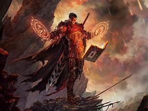 Mage, Fantasy, Art, Books, Artwork, Realistic, Diablo, Iii, Swords