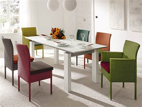 White Dining Room Chairs Furniture With Four Chair Table
