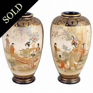 Satsuma, Pottery, Vases