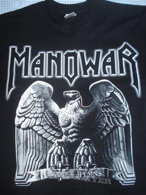 manowar battle hymns quot silver edition quot shirt