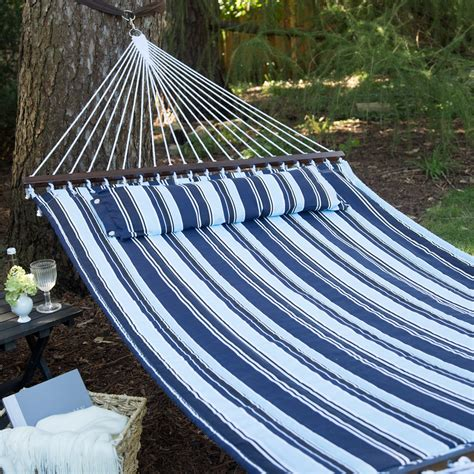 Hammock For by Island Bay 13 Ft Nautical Quilted Hammock Hammocks At