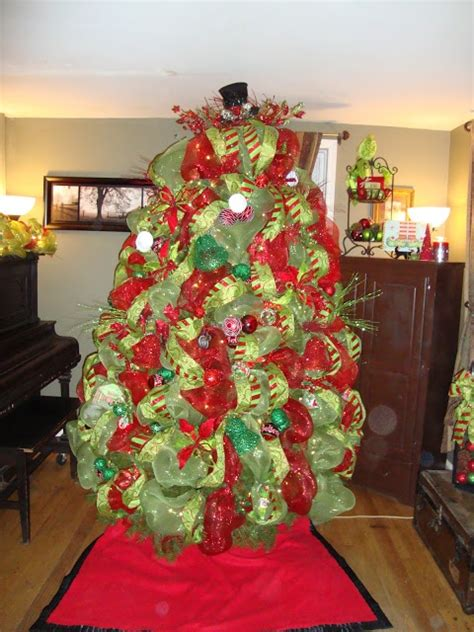 39 best images about christmas trees and deco mesh on