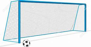 Soccer Goal Drawing Soccer Clipart Goal Post - Pencil And ...