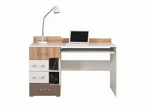 Bureau Bois Pas Cher : bureau ado en bois pas cher bureau avec support clavier ~ Teatrodelosmanantiales.com Idées de Décoration