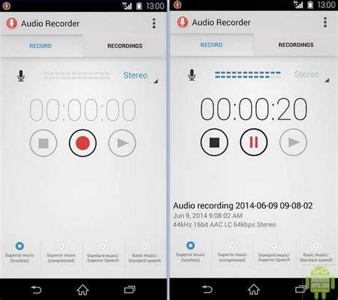 recorder app for android the best android voice recorder app 2015