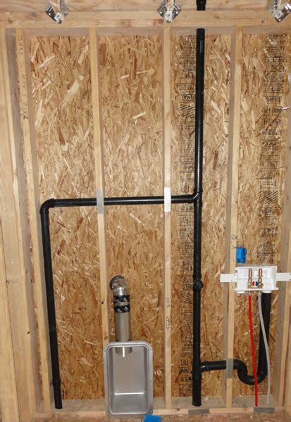 replacing   galvanized wash machine drain pipe terry