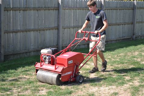 lawn aerator lawn aeration can help your grass recover from a drought