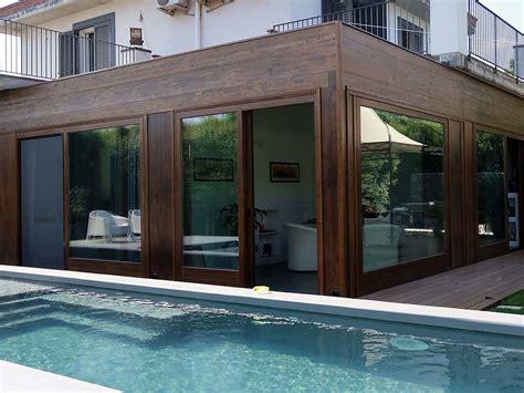 verande da giardino vivereverde veranda in legno lamellare veranda in