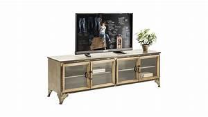 Meuble Tv Fer : achetez votre meuble tv en bois et fer 4 portes kontor kare design pas cher sur loft ~ Teatrodelosmanantiales.com Idées de Décoration