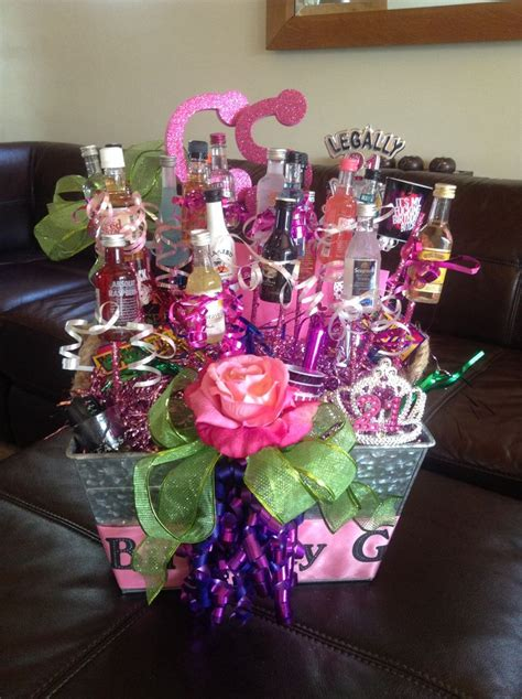 happy st birthday gift basket   daughter gift