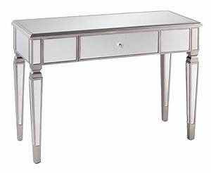 Willa arlo interiors loganne mirrored console table for Wayfair mirrored coffee table