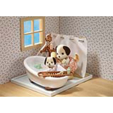 calico critters bathroom set calico critters deluxe bathroom set timbuk toys