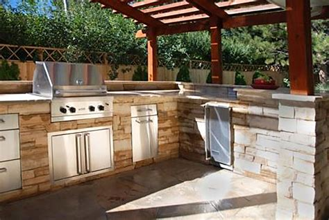 backyard kitchen ideas outdoor kitchens the hot tub factory long island hot tubs