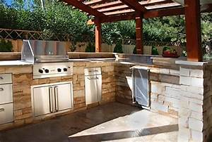 Outdoor kitchens the hot tub factory long island hot tubs for Outdoor kitchen layout