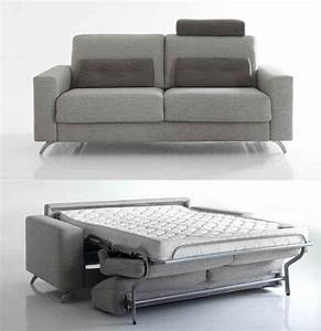 Le canape convertible en 10 questions a david swieca for Canapé convertible bon couchage