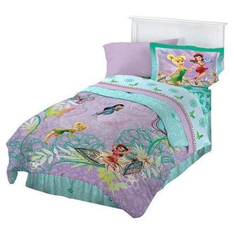 disney fairies full comforter sham set tinkerbell glow