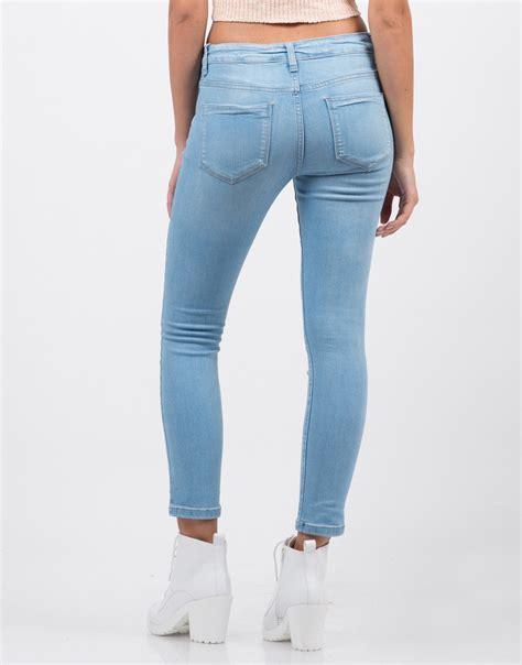 cheap light blue skinny jeans classic crop skinny jeans blue jeans light blue denim