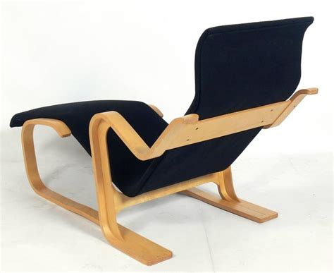 marcel breuer chaise sculptural bentwood chaise longue by marcel breuer at 1stdibs