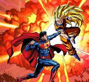 Superman Vs Goku | Comic Multiverse