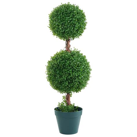 Box Double Ball Topiary Dzd