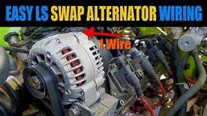 Easy Carbureted Ls Alternator Wiring For Your Ls Swap