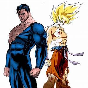 Goku versus Superman: Battle of the Normals : whowouldwin