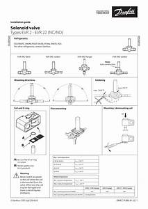 Danfoss Evr 2  No  Installation Guide