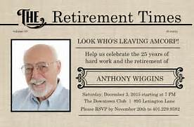 Retirement Invitations Ideas Cards Free Retirement Parties Poster Retirement Invitations Check Out The Retirement Samples Below Templates Free Retirement Party Flyer Invitation Free Retirement Invitation Template For Retirement Party Format Of Retirement Party