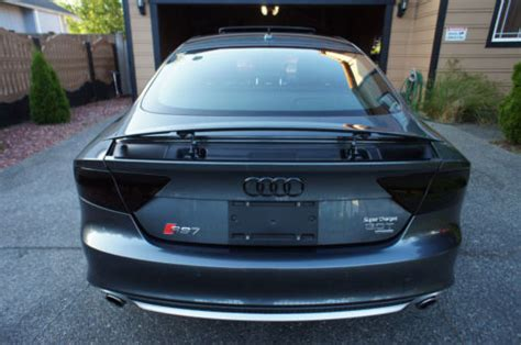 audi  smoked factory tail lights  core needed