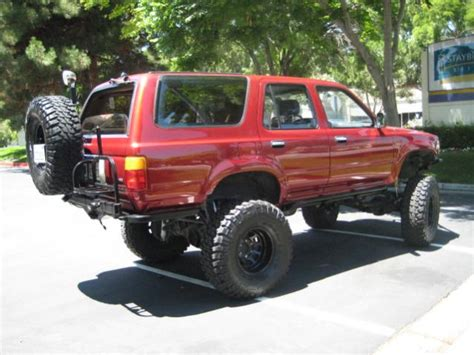 1990 Toyota 4runner by 1990 Toyota 4runner Information And Photos Momentcar