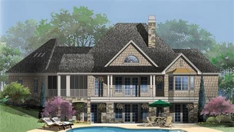 Hillside House Plans With Walkout Basement Luxury Hillside