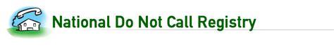 cell phone do not call list national do not call registry