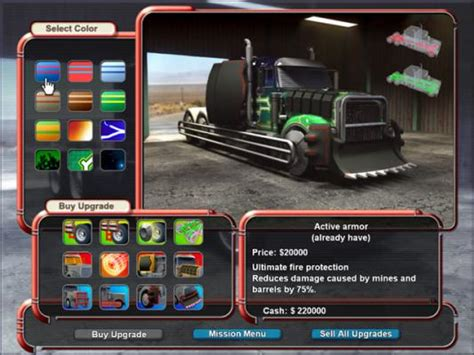Play Free Mad Truckers Online Games. Trucking Webgame