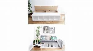 Fabriquer Un Banc D Interieur : tuto comment fabriquer une banquette maison travaux ~ Melissatoandfro.com Idées de Décoration