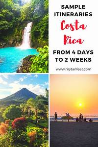 Our Favorite Costa Rica Itinerary Ideas: 4 days to 1 Month