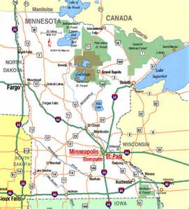 Minnesota Highway Map
