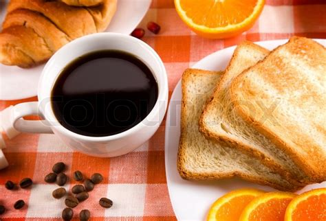 Enjoy the videos and music you love, upload original content, and share it all with friends, family, and the world on youtube. Breakfast with toasts,jam, coffee and fruits   Stock Photo   Colourbox