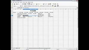 Libreoffice Calc  Formatting Example