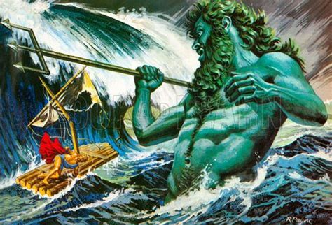 poseidon calling   winds  destroy odysseus nb