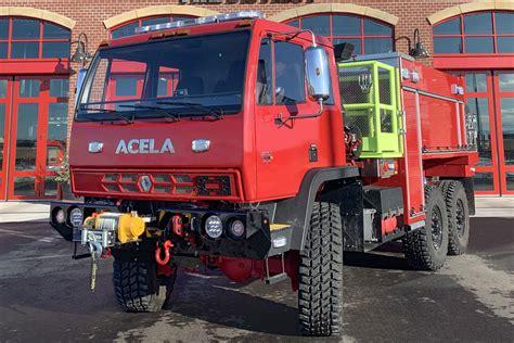 acela truck company expands  wui fire truck market