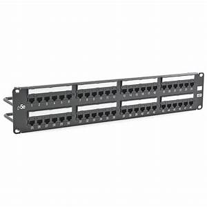 Hubbell Premise Wiring Hp5e48e Patch Panels