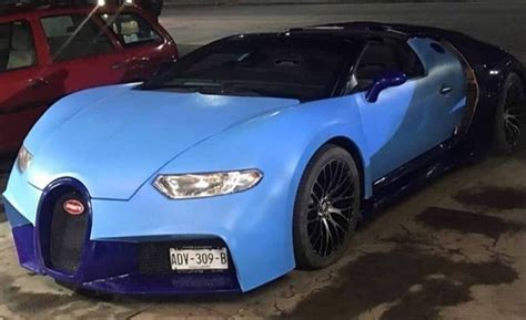 What do you do when your heart desires a bugatti veyron, but your pockets say otherwise? Fake Bugatti Chiron Actually Looks Like a Veyron, Based on a Corvette - autoevolution