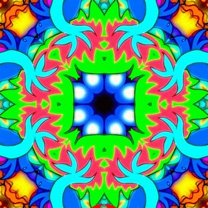 Kaleidoscope Trippy Psychedelic Giphy Miron Animated Gifs
