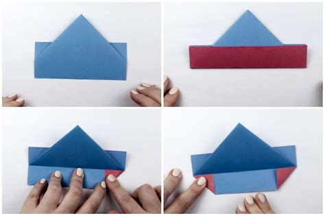 Boat Drawing Instructions by Origami Wonderful Origami Boat Origami Boat Drawing
