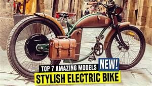 7 New Electric Bikes W   Old School Designs And Retro