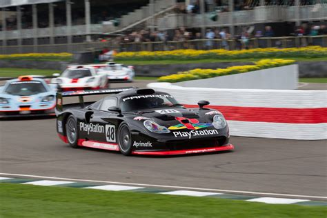 Porsche 911 GT1 - Chassis: 993-GT1-109 - Driver: Mark ...