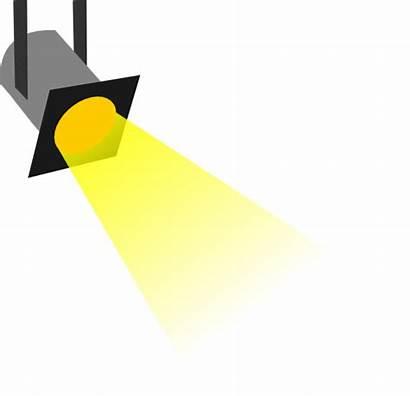Spotlight Clipart Hollywood Clip Vector Star Searchlights