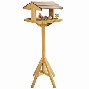 Mangeoire Oiseaux Sur Pied : mangeoire oiseaux 114 cm sur pied provence outillage ~ Teatrodelosmanantiales.com Idées de Décoration