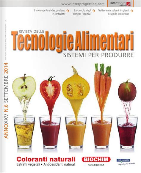 scienza e tecnologia alimentare 187 tecnologia alimentari